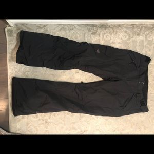 Gently worn Womens North Face Ski Pants